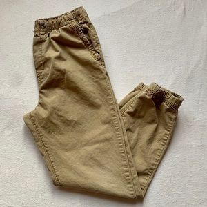 OshKosh Joggers Khaki Boys Size 10/12